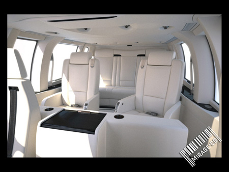 Luxury Aircraft Interior by BBDC