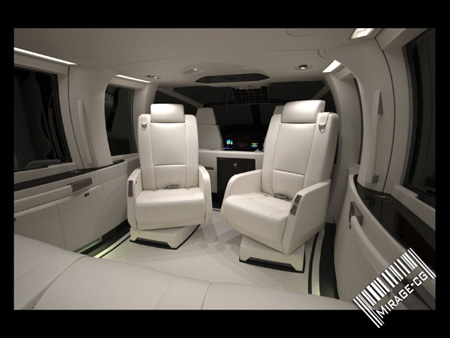 aircraft ec 155 vip luxury interior