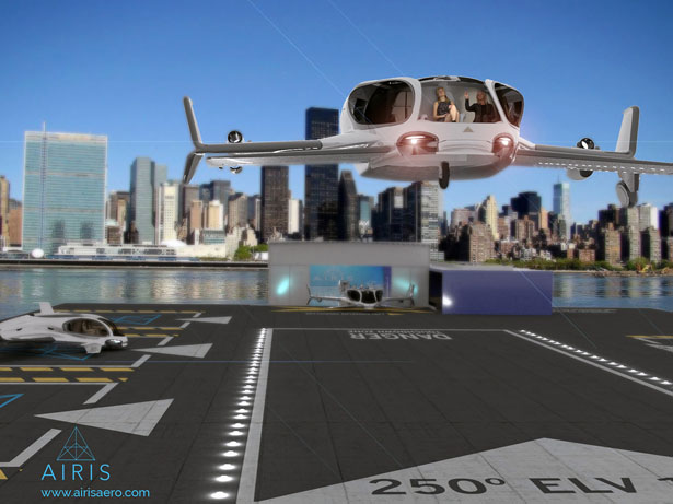 Airis x Design Eye-Q Urban Air Mobility Concept