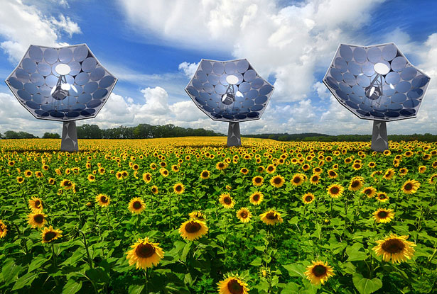 IBM and Airlight Energy Bring You Affordable Solar Power Technology
