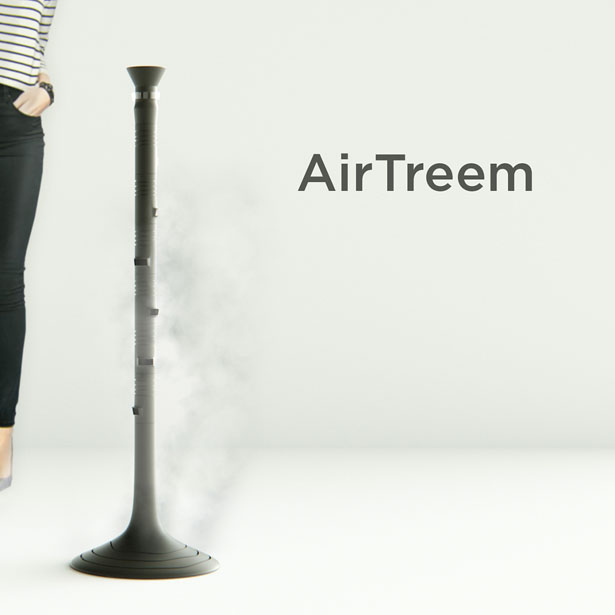 AirTreem System - Air Purifier Device by Denis Garmash
