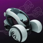 Airwaves, Futuristic City Car Concept