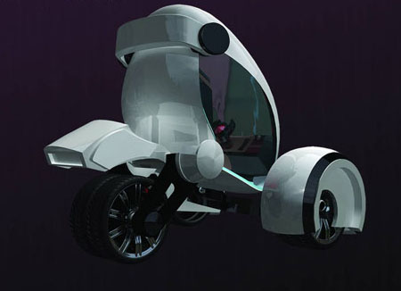 airwaves futuristic car concept