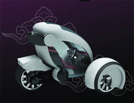 airwaves future city car concept