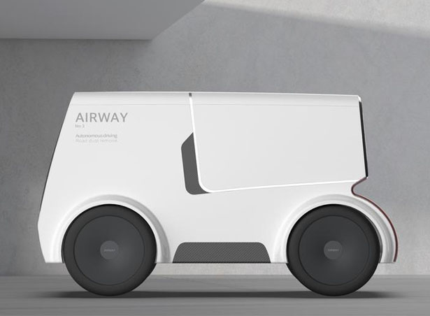 Airway Self-Driving Vehicle That Eliminates Road Micro Dust by Yoo Hyunseok and Hyein Park