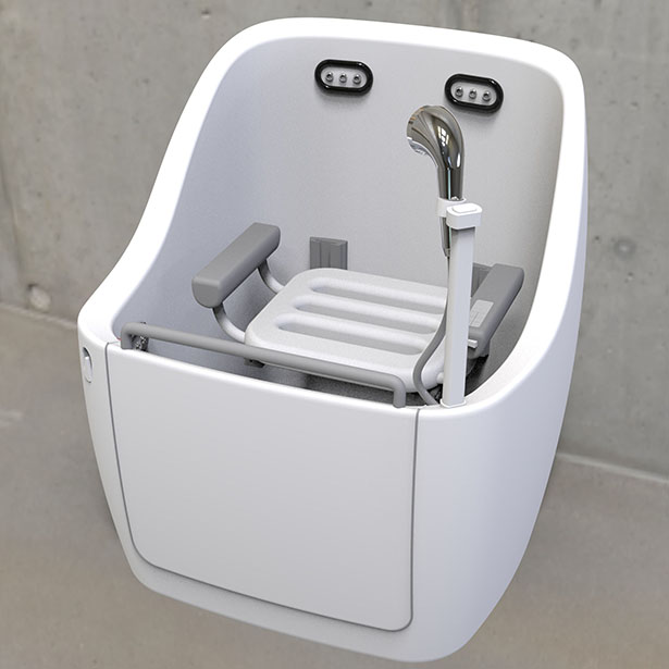 Aiyu Shower Machine for Elderly People by XinYi Chen, Jiahua Liang and Jiaxiang Li