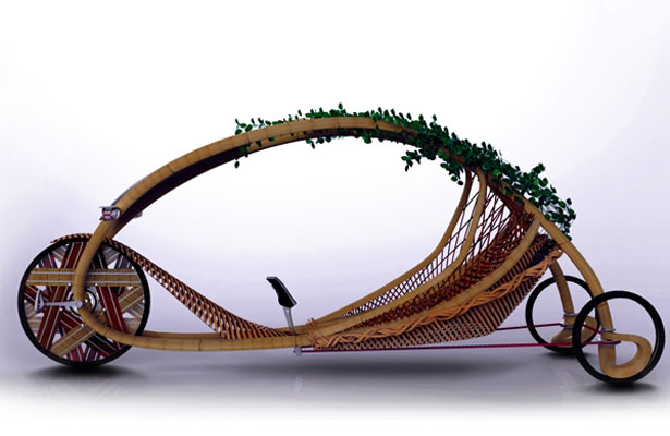 Ajiro Sustainable Personal Mobility Is Constructed From Bamboo