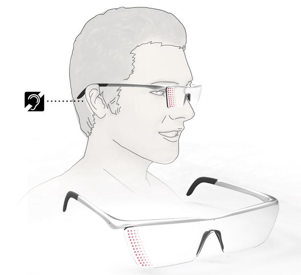 Alarm Glasses for Hearing Impaired People by Sangjin Joo