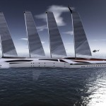 Albatross Yacht Features Two Smaller Boats That Are Ready to Sail Independently