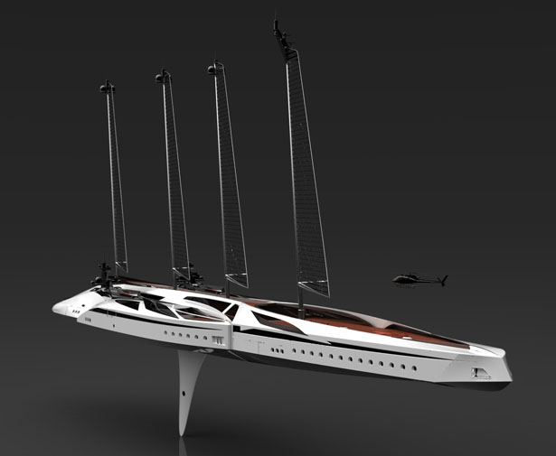 Albatross Yacht by Tarun Sharma