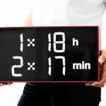 Albert Clock : Modern Digital Clock for School Classes