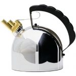 Alessi Sapper Kettle Features Timeless Design and Creative Melodic Whistle