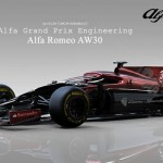 Alfa Romeo AW30 Is A Design Study for New Formula 1 Racing Car