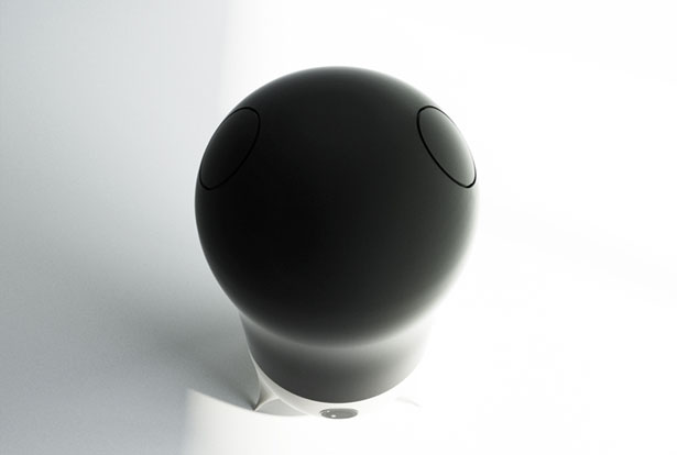 Alianoid Humidifier : Outer Space Robot That Increases Humidity in A Room