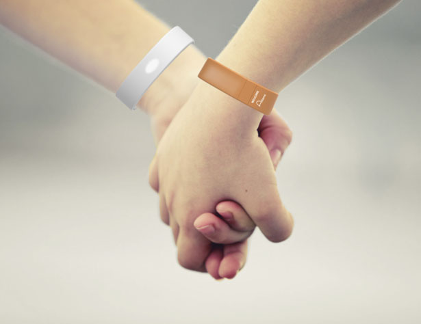 Aliens : A Wearable Wristband and An App Game by Huira Koo and Semina Yi