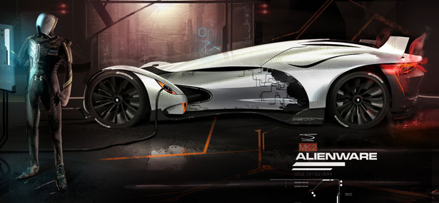 Alienware MK2 Project by Shane Baxley