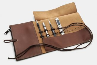 Allegory Goods Adjustable Tool Roll to Carry Your Pens or Supplies in Style