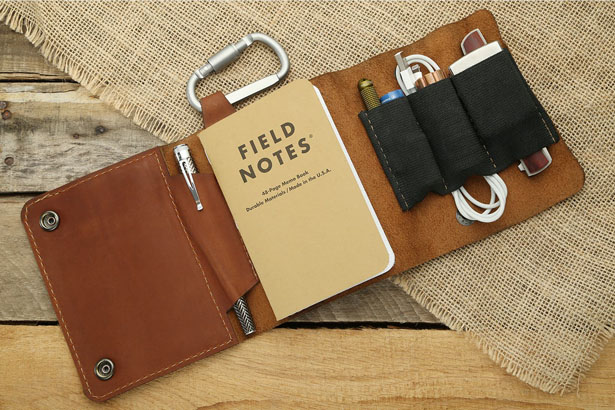 Allegory Goods Leather EDC Pouch