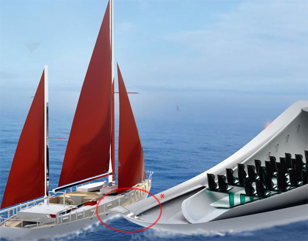 Allochroous Yacht by Ezgi Aksan and Ambra Ceronetti