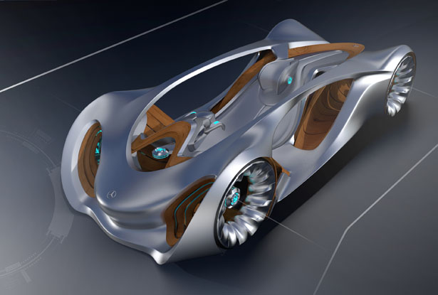 Alpha Concept Car : Single Seater Vehicle with Wooden Chassis