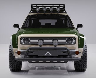 Alpha JAX Electric Crossover Utility Vehicle (CUV) for Adventure Seekers