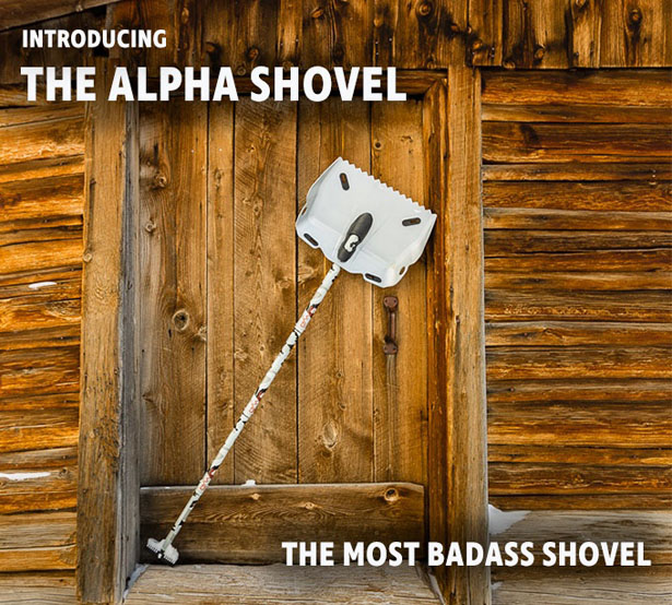 Alpha Shovel by DMOS Collective