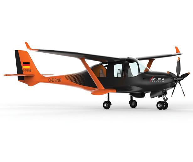 Alpina Aircraft Design by Dr Hakan Gursu of DesignNobis Studio