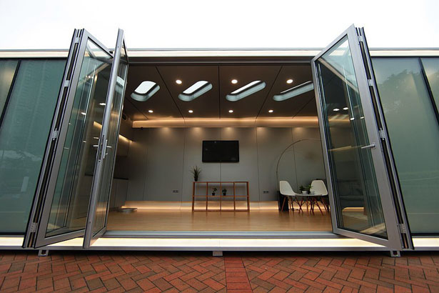 Alpod Future Mobile Home by James Law Cybertecture, Arup, and Alu House