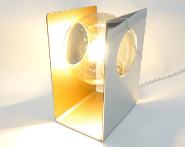 ALTAIR Metal Lamp by Leonardo Criolani