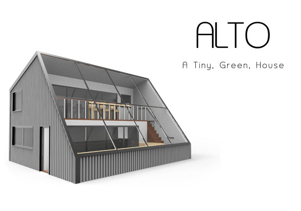 Alto Tiny Green House by Gavin Rea