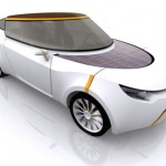 "Altran ""Just"" Futuristic and Eco Friendly Car Concept"