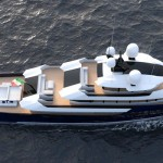 Alvarado Yacht Re-interprets Modern Explorer Yacht