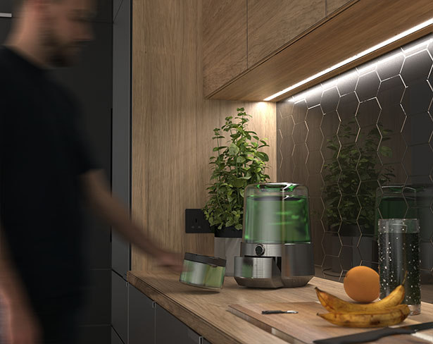 Grow Superfood with Alveo Home Photobioreactor and Cultivation Tank by Luke Hazlehurst