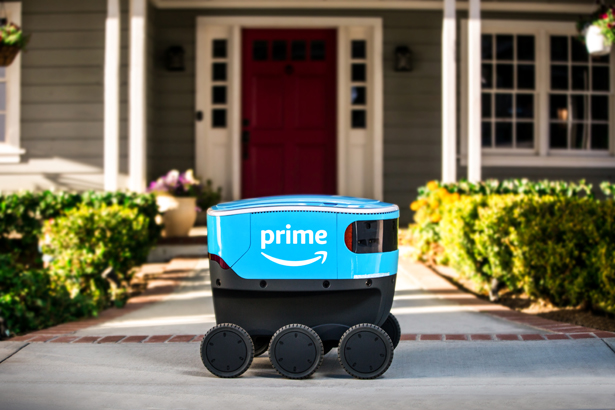 Amazon Scout Delivery System