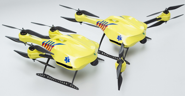 Ambulance Drone by Alec Momont