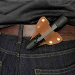 Carry Your Torch in Style with American Bench Craft Leather Flashlight Holster