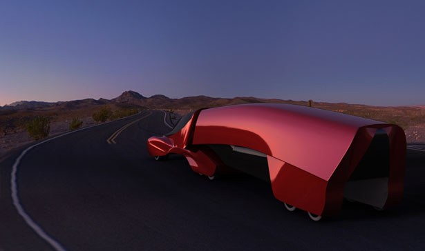 Concept Aero Truck : American Long Haul Truck for 2030 by Josh Shercliff