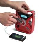 Eton American Red Cross FRX3 Hand Crank NOAA AM/FM Emergency Radio Features Multiple Power Options