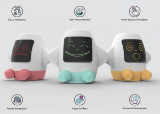 AMICA Smart Toy That Bridges The Communication Barrier Experienced Between a Child On The Autism Spectrum and Their Parent