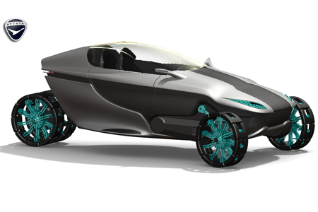 future amphibious hybrid concept vehicle