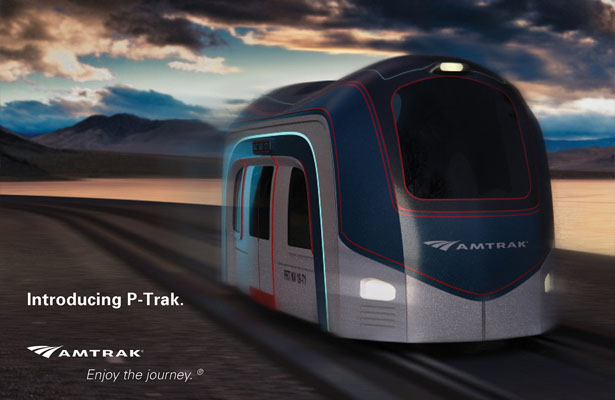 P-trak Autonomous Rail Transport Proposal for Amtrak by Tara Sriram