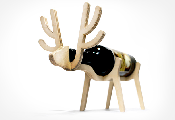 Animal Wine Racks by Conte Bleu