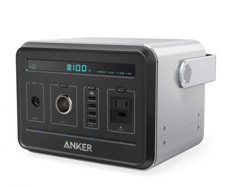 Anker Powerhouse Compact Rechargeable Power Source as a Backup Power Supply