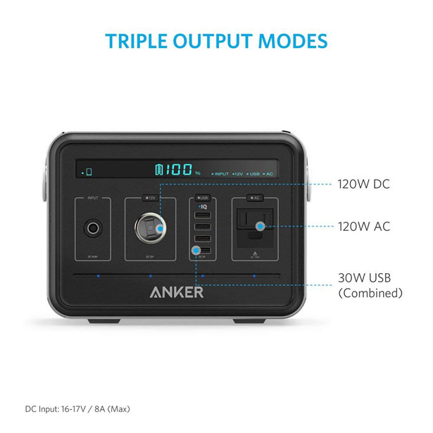 Anker Powerhouse Compact Rechargeable Power Source