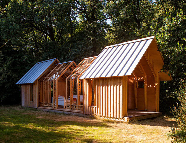 Beautiful Cabin ANNA with Ability to Adapt and Change