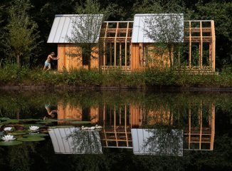 Beautiful Cabin ANNA with Ability to Adapt and Change Just Like Outdoor Environment