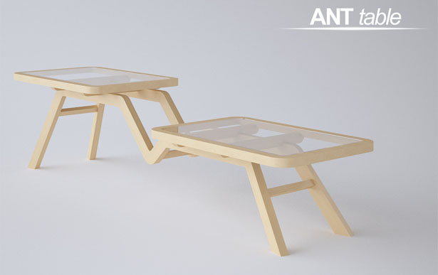ANT Table : Modern Coffee Table by Oliver Nikolic | Tuvie