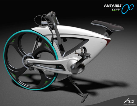 antares lift foldable bicycle