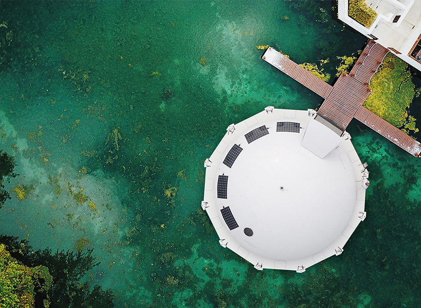 Anthenea Floating Eco Pod to Explore The Sea in Style