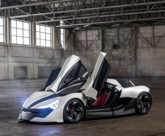Apex AP-0 Super Sports Electric Car – Form and Function in One Harmonious Design